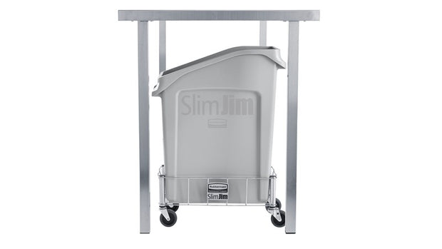Contenedor Slim Jim color Gris de 49 Lts