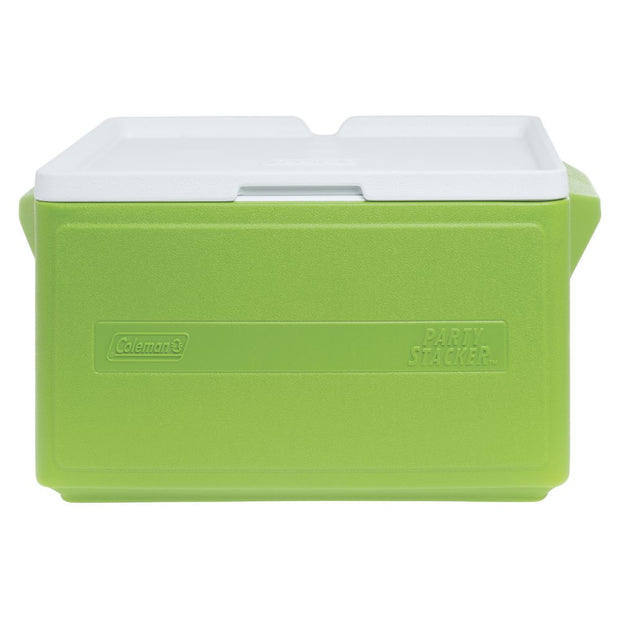 Coleman Hielera Cooler 48qt Can Stacker Green