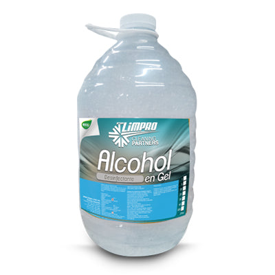 Alcohol Desinfectante en Gel Limpro de 5 Litros