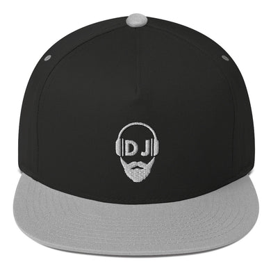 Bearded DJ Flat Bill-Cap
