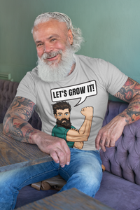 Lets Grow it Kurzärmeliges Unisex-T-Shirt