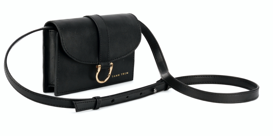 Three-in-one Square Bag - Sling bag/Bum Bag and Clutch