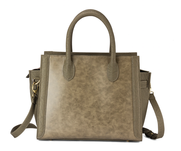 Shades of Green Work Satchel (Upto 15 Inches) - Highly Spacious