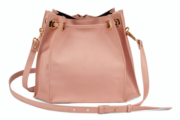 The Pink and Gold Sling Bag