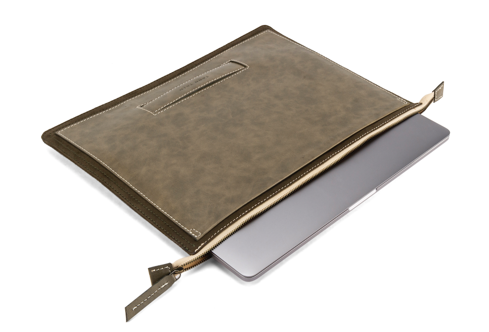 MacBook Cover (13 - 15 Inches) in Olive Green