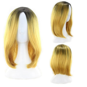 12inch Short Bob Wigs For Women Synthetic Hair