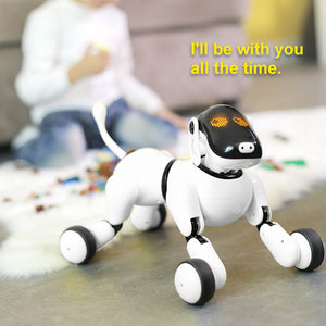 RC Smart Dog Intelligent Robot Dog Kids Toy Intelligent Talking Sing Dance Walking Robot Electronic Safety Pet Christmas Gifts