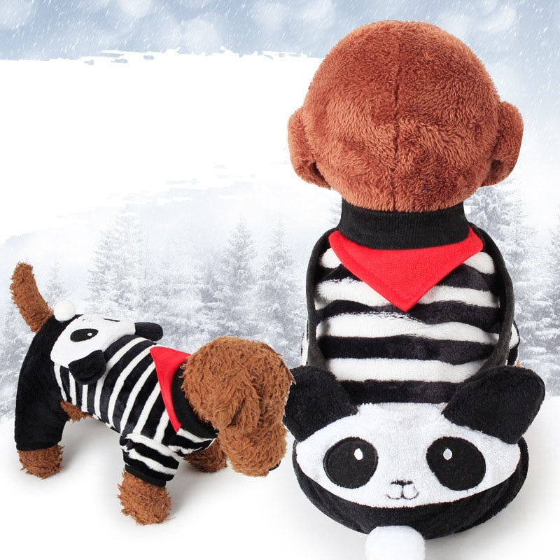 Pet Cat Costume Halloween Puppy Dog and Cat Clothes Kitty Cat Cartoon Animal Costume Comfortable Fleece Hoodies Apparel XS-XL