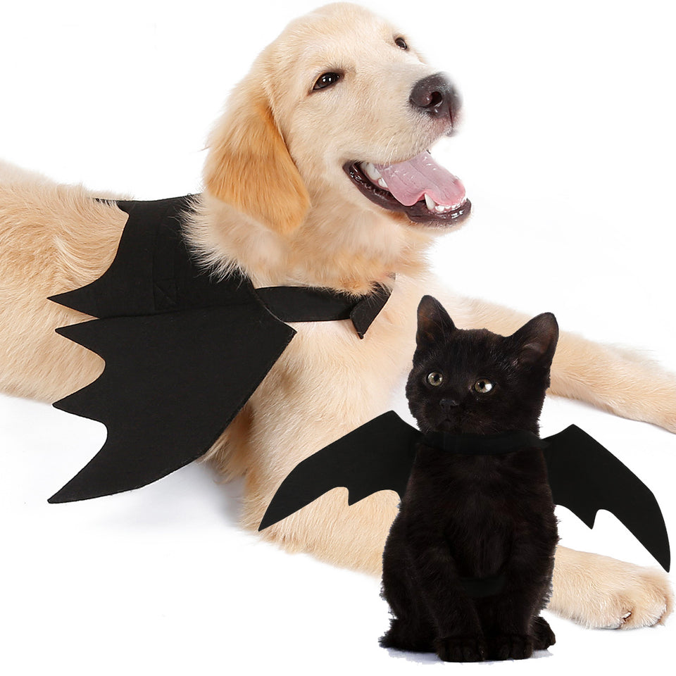 Halloween Pet Dog Bat Wing Clothes Halloween Party Decoration Cosplay Props Dog