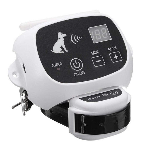 Wireless Electric Dog Pet Fence Containment System Transmitter Collar Waterproof LCD Display Dog Fence Safety Pet Supplies