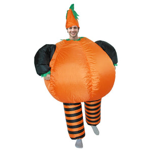 Anime Cosplay Inflatable Pumpkin Costume Halloween Costume for woman Funny Dress Outfit