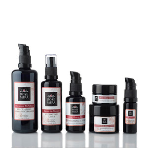 Retail Sized Products/ Moroccan Red Rose Essentials Collection (6 items)