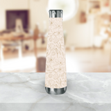 Gold Magnolia Water Bottle
