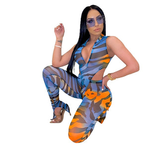 Sexy Summer Women Set Clothes Mesh Two Piece Set Top and Pants Suit Bodycon Party Club 2 Piece Outfits for Women Matching Set