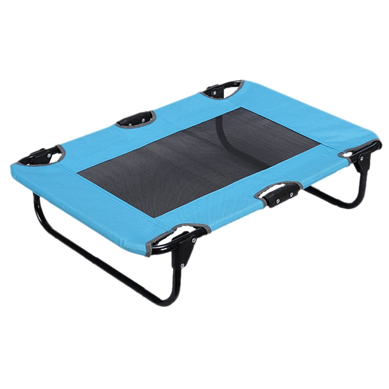 Pet Summer Bed Oxford Outdoor Dog Bed Breathable Dog Bed Portable Cool Pet Bed for Dog and Cat