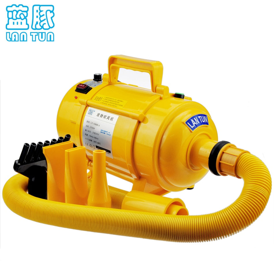 2017 New Dog Blow Dryer Dog  Dryer Pet Blower Of High Power Ultra Quiet 110v~240v Available Stepless Speed Regulation 2600w