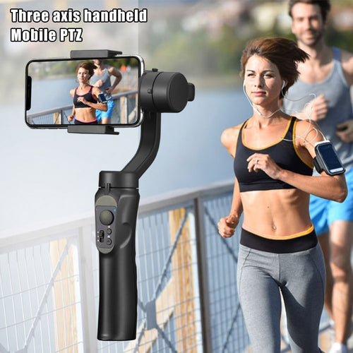 High Quality 3-Axis Handheld Selfie Stick Gimbal Stabilizer Stable Adjustable for Mobile Phone MD88