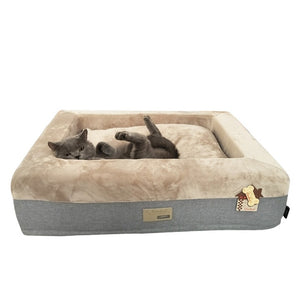 Best Selling Pet Supplies Pet Supplies Home Luxury Dog Bed Cat Nest Hand Wash Mechanical Wash Breathable Waterproof  Dog House