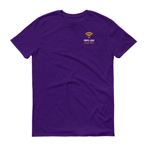 Purple + Gold Connection Tee - What The Fuss Apparel
