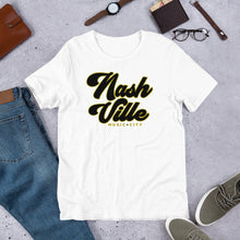 Load image into Gallery viewer, Classic Nashville Short-Sleeve Unisex Tee - What The Fuss Apparel