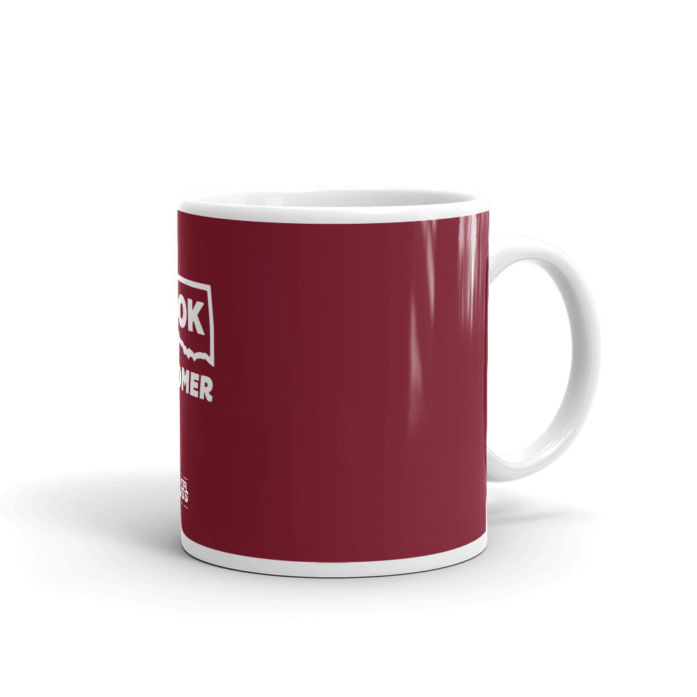 Ok, Boomer Coffee Mug Crimson - What The Fuss Apparel
