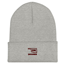 Load image into Gallery viewer, Ok, Boomer Cuffed Beanie - What The Fuss Apparel