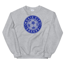 Load image into Gallery viewer, Music City Soccer Unisex Sweatshirt - What The Fuss Apparel