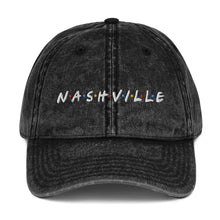 Load image into Gallery viewer, Nashfriends Vintage Cotton Twill Cap - What The Fuss Apparel