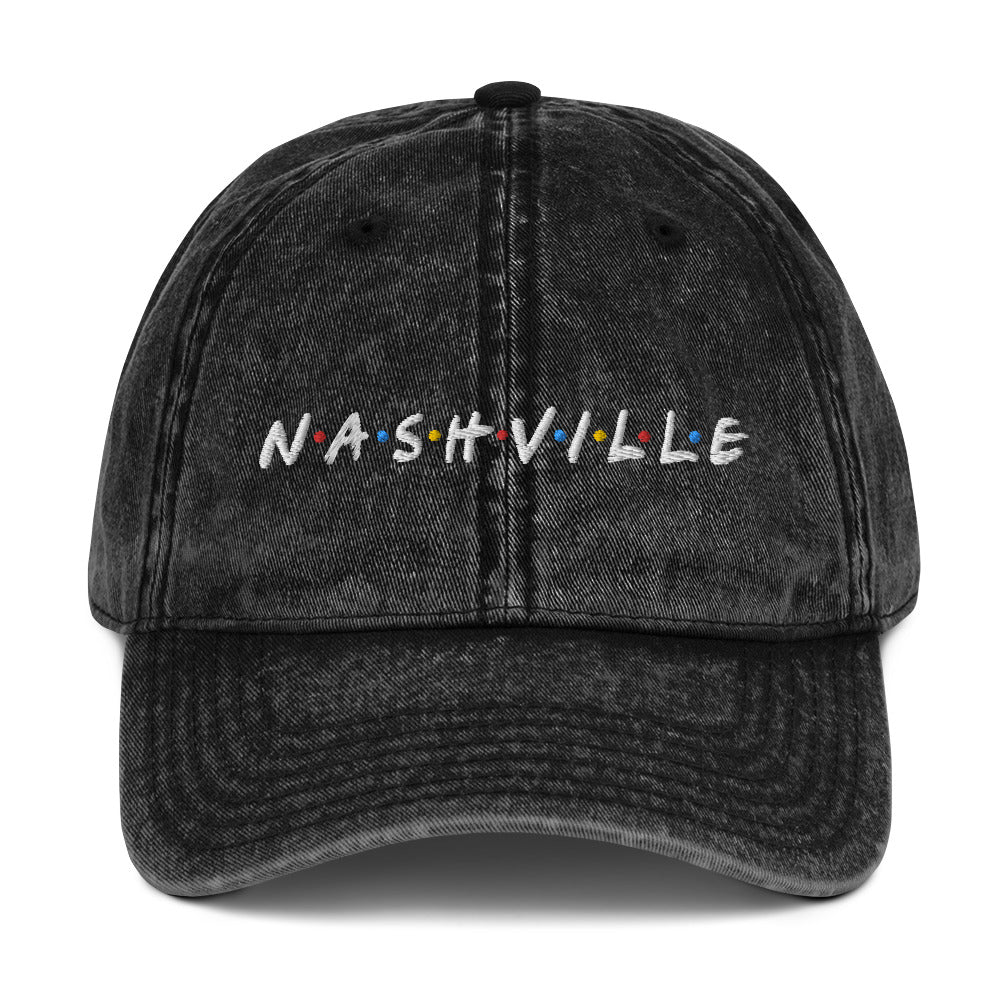 Nashfriends Vintage Cotton Twill Cap - What The Fuss Apparel