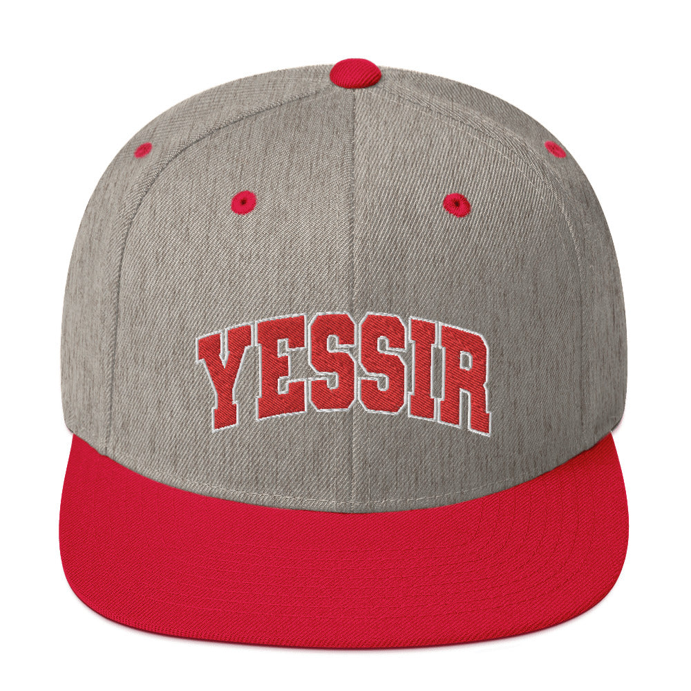 Yessir! Snapback Hat - What The Fuss Apparel