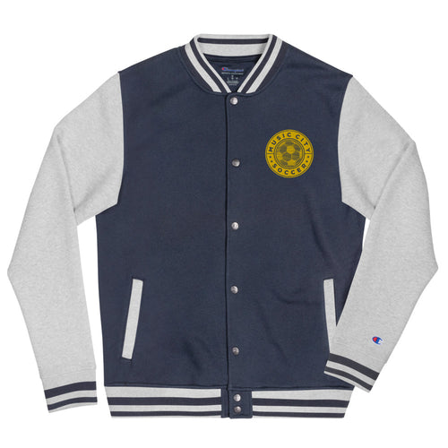 Music City Soccer Champion Bomber Jacket - What The Fuss Apparel