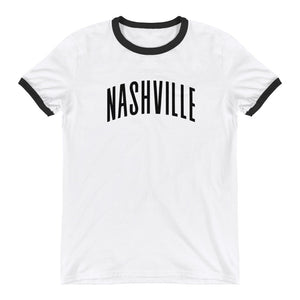 Imagine Nashville Ringer Tee - What The Fuss Apparel