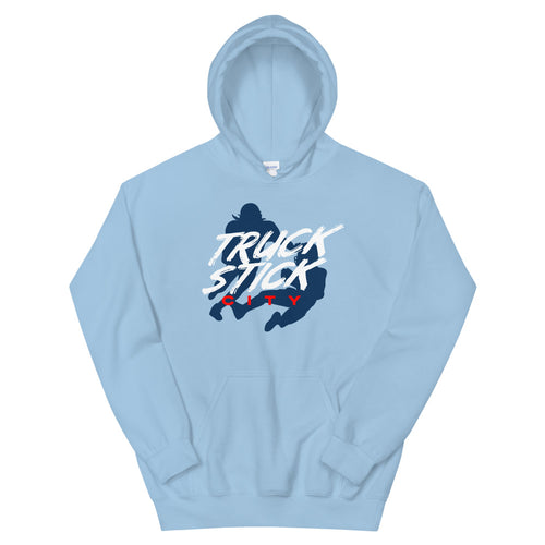 Truck Stick City Unisex Hoodie - What The Fuss Apparel