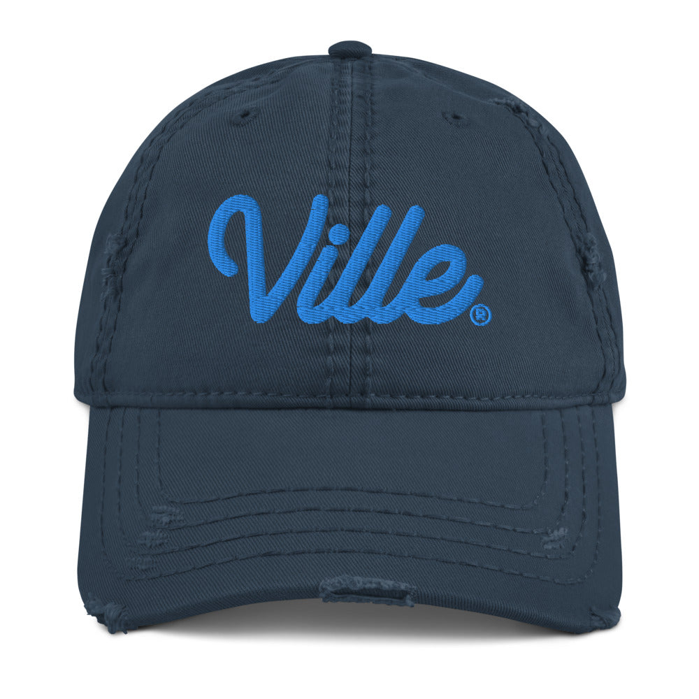 Ville The End of Time Distressed Dad Hat - What The Fuss Apparel