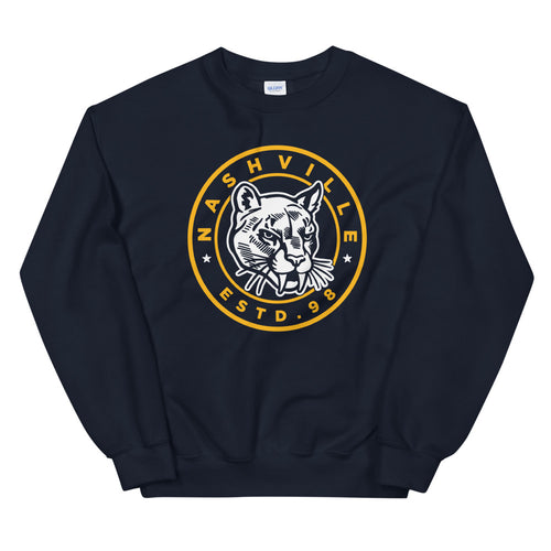 The Saber Tooth Unisex Sweatshirt - What The Fuss Apparel