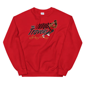 "The ""Traveler"" Unisex Sweatshirt - What The Fuss Apparel"