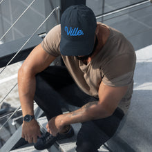Load image into Gallery viewer, Ville The End of Time Distressed Dad Hat - What The Fuss Apparel
