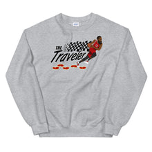 "Load image into Gallery viewer, The ""Traveler"" Unisex Sweatshirt - What The Fuss Apparel"