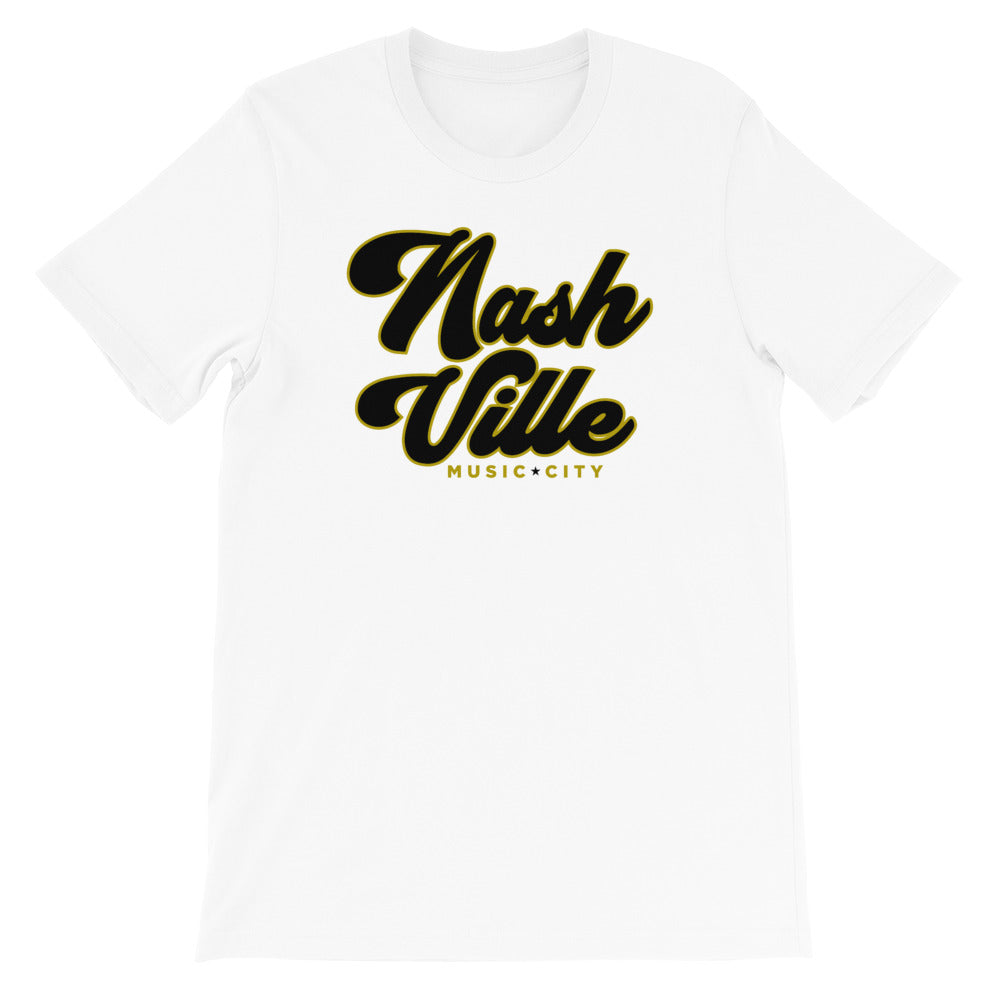Classic Nashville Short-Sleeve Unisex Tee - What The Fuss Apparel