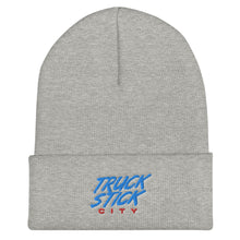 Load image into Gallery viewer, Truck Stick City Cuffed Beanie - What The Fuss Apparel