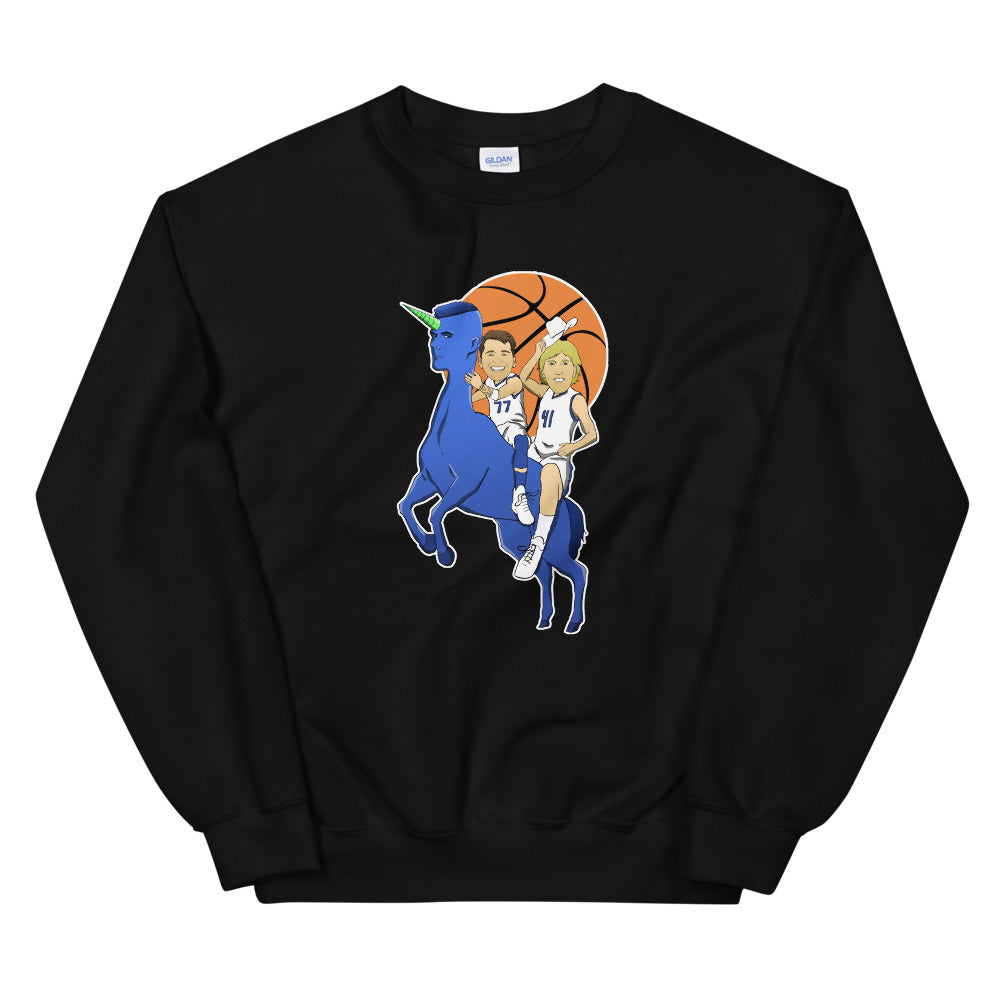 The Euros Unisex Sweatshirt - What The Fuss Apparel