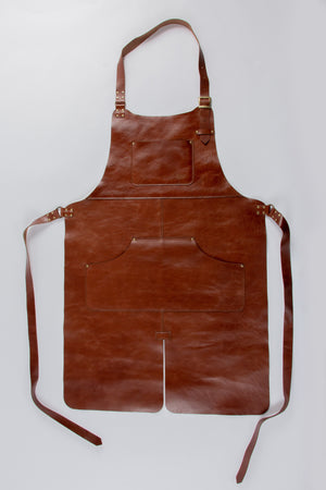 Full Leather Apron • Split Leg