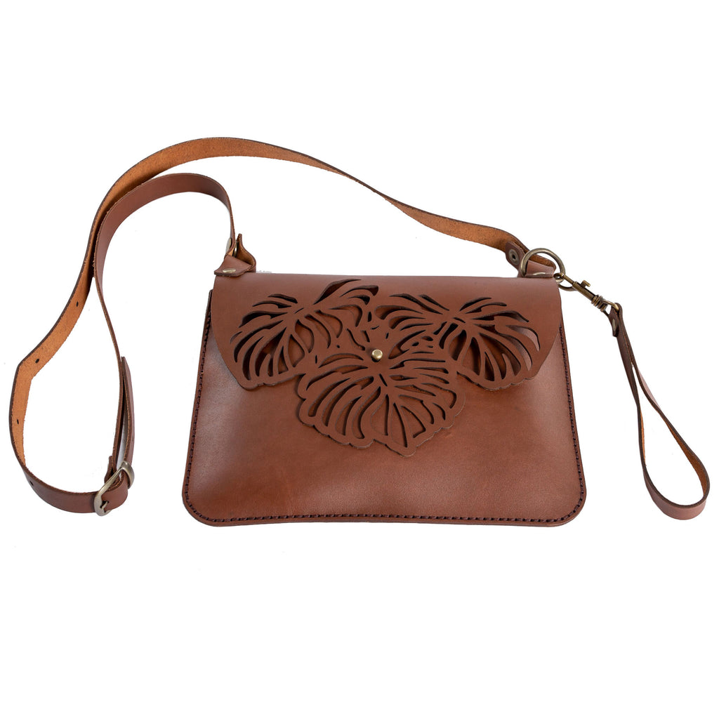 Clutch • Leaves Motif