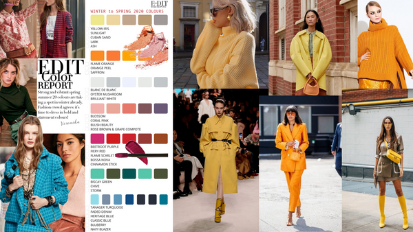 Fall 2020 Winter 2021 Pantone Colors Trends.