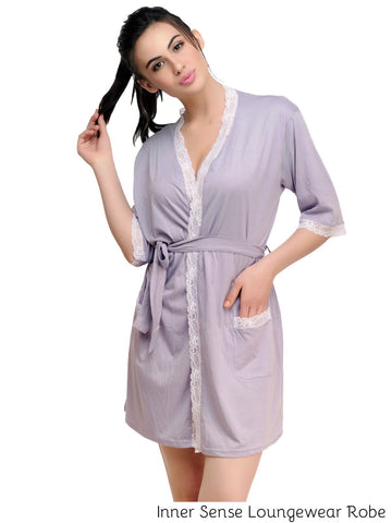 Inner Sense Organic Cotton Robe