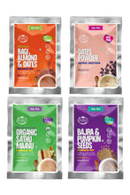 Load image into Gallery viewer, Stage 2 Trial Pack Combo - Organic Fresh Porridge Mixes & Dates Powder