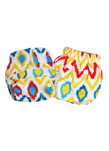 Superbottoms Newborn UNO diaper + 1 Organic Cotton insert & waterproof lining (2.5-6 Kgs)