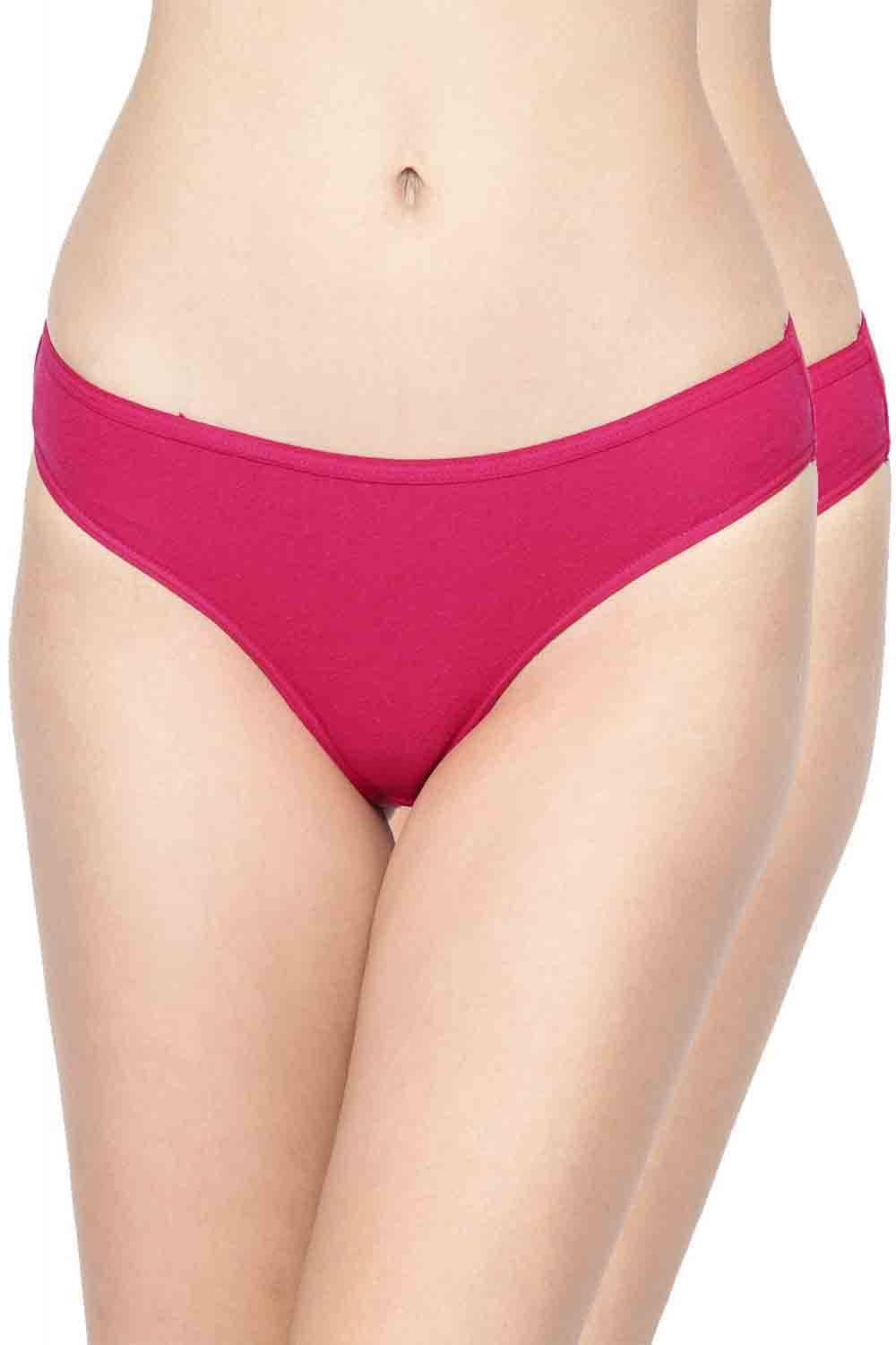 Inner Sense Organic Cotton Antimicrobial Bikini (Pack Of 2)