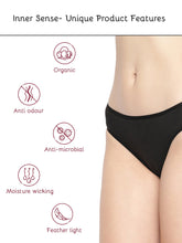 Load image into Gallery viewer, Inner Sense Organic Cotton Antimicrobial Bikini (Pack of 3)