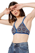 Load image into Gallery viewer, Inner Sense Organic Cotton Antimicrobial Non-wired Non-padded String-back Bralette